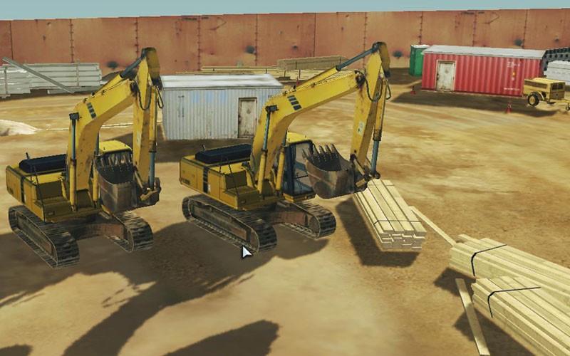 excavator simulator games free