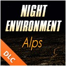 Night Environment - Alps