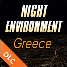 Night Environment - Greece